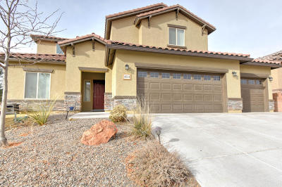 Rio Rancho NM Single Family Home For Sale: $330,000