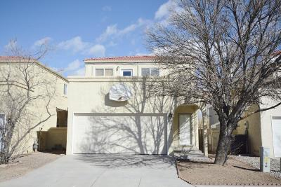 Albuquerque NM Single Family Home For Sale: $189,000