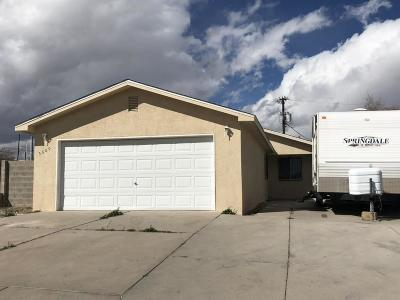 Albuquerque NM Single Family Home For Sale: $119,990