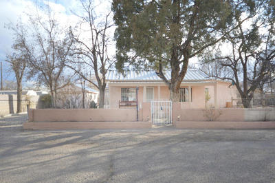 Albuquerque Single Family Home For Sale: 1930 Tapia Place SW