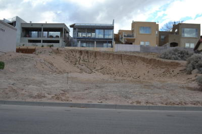 Albuquerque Residential Lots & Land For Sale: 1721 Bluffside Drive NW
