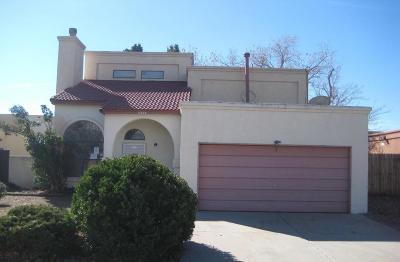 Albuquerque Single Family Home For Sale: 5326 Still Brooke Avenue NW