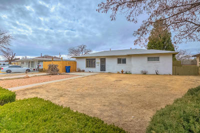 Albuquerque Single Family Home For Sale: 2717 Parsifal Street NE