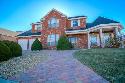 Albuquerque Single Family Home For Sale: 8600 Hampton Avenue NE
