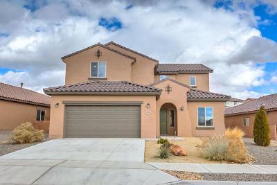 rio rancho Single Family Home For Sale: 3821 Puenta Alto Avenue NE