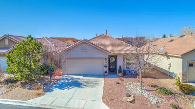 Bernalillo Single Family Home For Sale: 911 Desert Willow Court