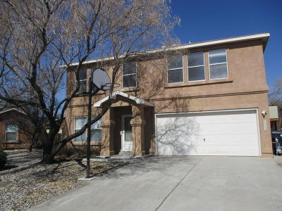 Albuquerque Single Family Home For Sale: 7909 Tafwood Road NW