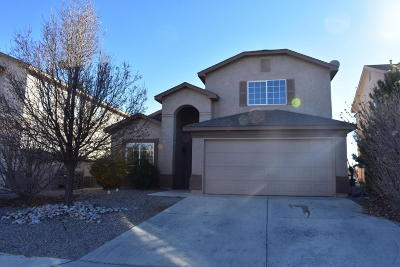 Rio Rancho Single Family Home For Sale: 508 Peaceful Meadows Drive NE