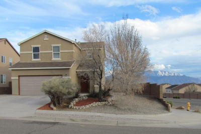 Rio Rancho Single Family Home For Sale: 5220 Dexter Court NE