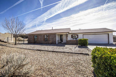 Rio Rancho Single Family Home For Sale: 4316 David Court NE