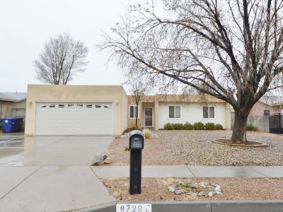 Albuquerque Single Family Home For Sale: 8720 Rough Rider Road NE