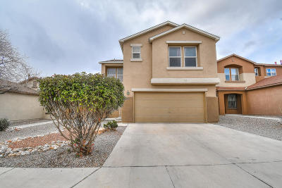 Albuquerque Single Family Home For Sale: 8800 Sawgrass Place NW