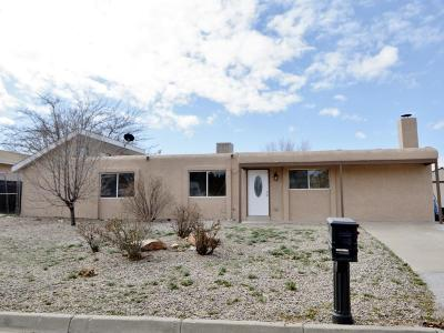 Rio Rancho Single Family Home For Sale: 4108 Las Casas Court SE