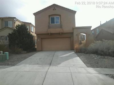 Rio Rancho Single Family Home For Sale: 2219 Margarita Drive SE
