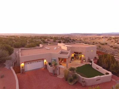 Placitas Single Family Home For Sale: 4 Tiwa Trail