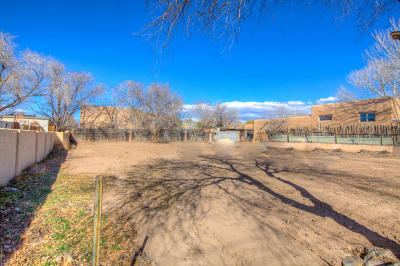 Albuquerque Residential Lots & Land For Sale: 3025 Los Anayas Road NW
