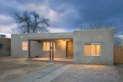 Albuquerque NM Single Family Home For Sale: $152,000