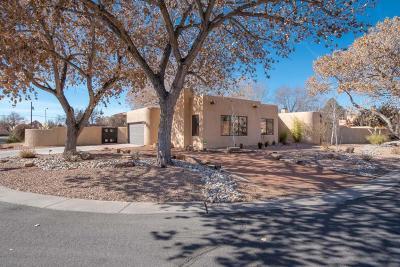 Albuquerque NM Single Family Home For Sale: $620,000