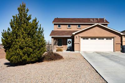 Albuquerque, Rio Rancho Single Family Home For Sale: 2723 Walsh Court SE