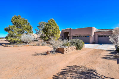 Rio Rancho Single Family Home For Sale: 3106 Chayote Road NE