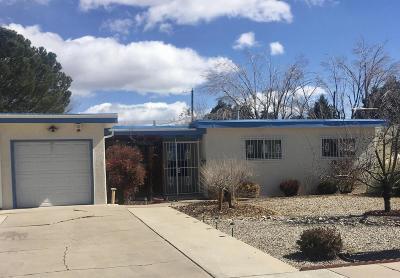 Albuquerque Single Family Home For Sale: 820 Truman Street NE