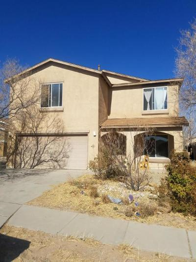Albuquerque Single Family Home For Sale: 11205 Ibis Road SW