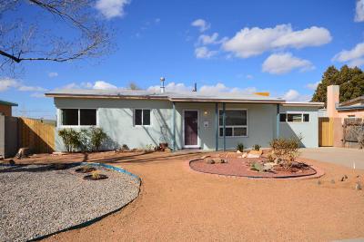 Albuquerque Single Family Home For Sale: 2517 La Veta Drive NE