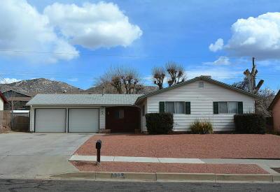 Albuquerque NM Single Family Home For Sale: $184,500