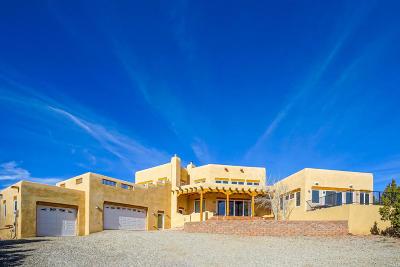 Tijeras, Cedar Crest, Sandia Park, Edgewood, Moriarty, Stanley Single Family Home For Sale: 8 Tewa Court
