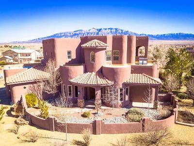 Rio Rancho Single Family Home For Sale: 5716 Rio Oso Road NE