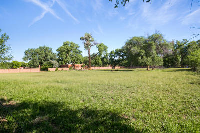 Residential Lots & Land For Sale: 8727 Rio Grande Boulevard NW