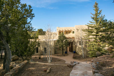 Tijeras, Cedar Crest, Sandia Park, Edgewood, Moriarty, Stanley Single Family Home For Sale: 36 Canyon Ridge Drive