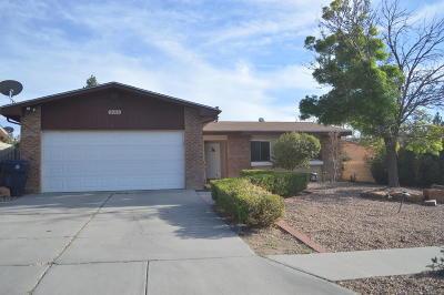 Single Family Home For Sale: 9016 San Francisco NE