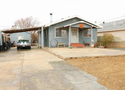Albuquerque Single Family Home For Sale: 215 Sanchez Road NW
