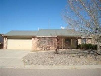 Rio Rancho NM Single Family Home For Sale: $159,900