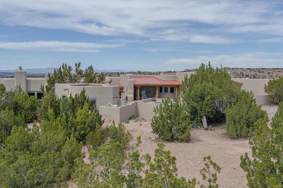 Placitas Single Family Home For Sale: 23 Tierra Madre Court