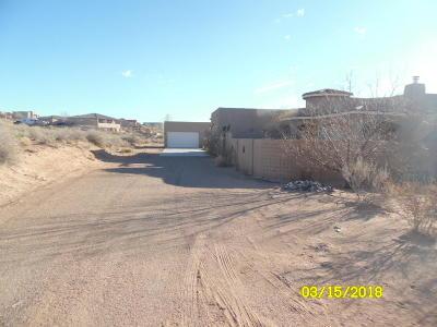 Rio Rancho Single Family Home For Sale: 4829 25th Avenue NE
