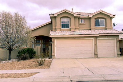 Albuquerque Single Family Home For Sale: 9132 Autumn Rose Drive NE
