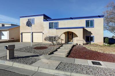 Single Family Home For Sale: 5529 Zambra Place NE