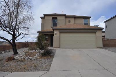 Rio Rancho Single Family Home For Sale: 6556 Grants Drive NE