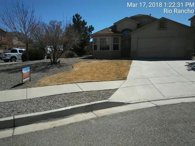Rio Rancho NM Single Family Home For Sale: $174,900