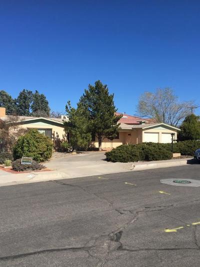 Albuquerque Single Family Home For Sale: 5127 Royene Avenue NE