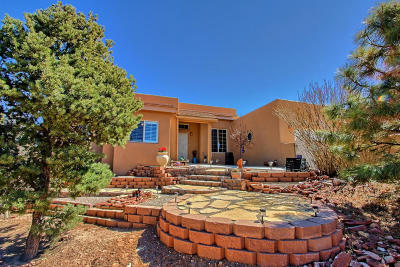 Tijeras, Cedar Crest, Sandia Park, Edgewood, Moriarty, Stanley Single Family Home For Sale: 51 Twin Arrow Drive
