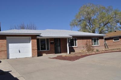 Albuquerque NM Single Family Home For Sale: $161,900