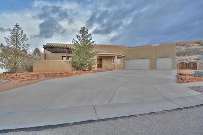 Albuquerque Single Family Home For Sale: 10408 Madrina Court NW