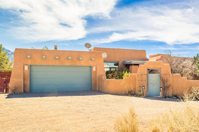 Placitas Single Family Home For Sale: 24 Vista Montana Loop