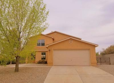 Rio Rancho Single Family Home For Sale: 6573 Freemont Hills Loop NE