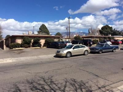 Albuquerque Multi Family Home For Sale: 9211/9215 Marron Circle NE