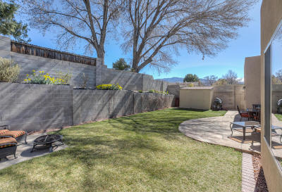 Albuquerque Single Family Home For Sale: 5904 Canyon Crest Place NE