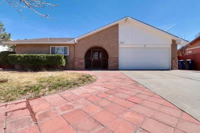Albuquerque Single Family Home For Sale: 5608 Tioga Road NW